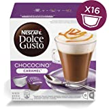 Nescafé Dolce Gusto Chococino Caramel, Pack of 3 (Total 48 Capsules, 24 servings)