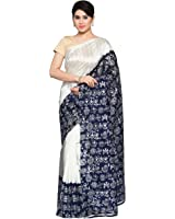 Oomph! Women's Art Silk Saree with Blouse Piece