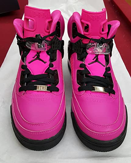 f48c3b03d994fb Nike Air Jordan Rare Deadstock 4 5 6 Spizike (Pink Black) Women s Size 10   Amazon.co.uk  Shoes   Bags