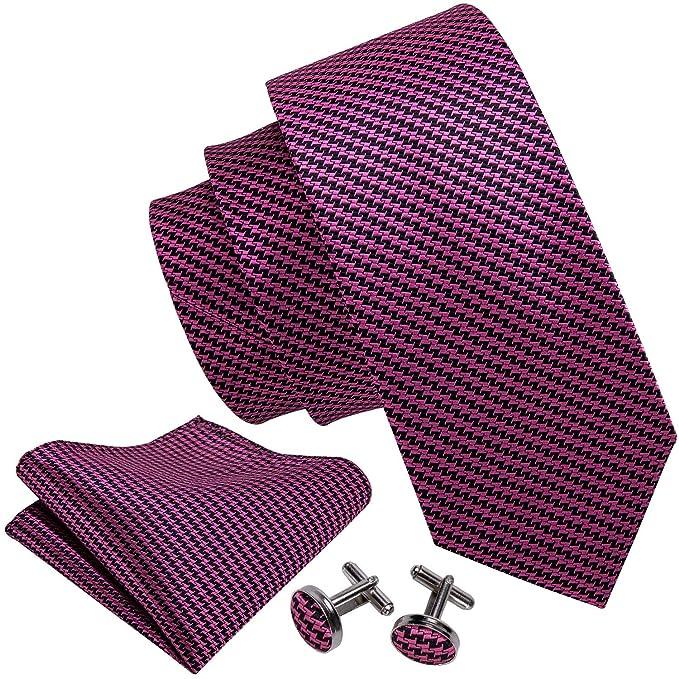 Barry.Wang - Gemelos cuadrados de bolsillo para hombre, diseño de ...