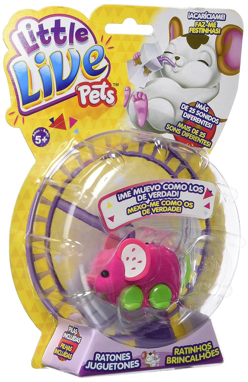 little live pets Pippeez Surtido: modelos//colores aleatorios rat/ón juguet/ón Famosa 700013199