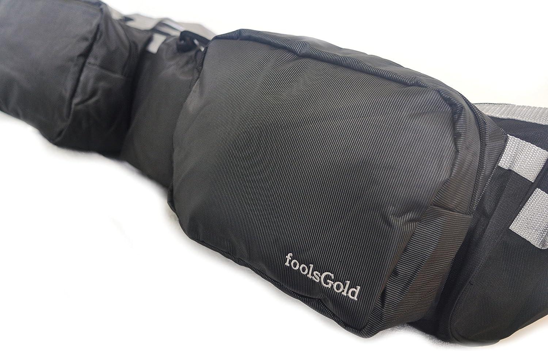 foolsGold Doppelbeutel Yogamatte mit Taschen 75cm