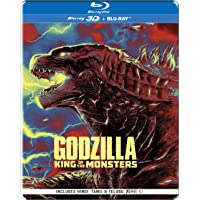 Godzilla: King of the Monsters (Steelbook) (Blu-ray 3D + Blu-ray) (2-Disc)
