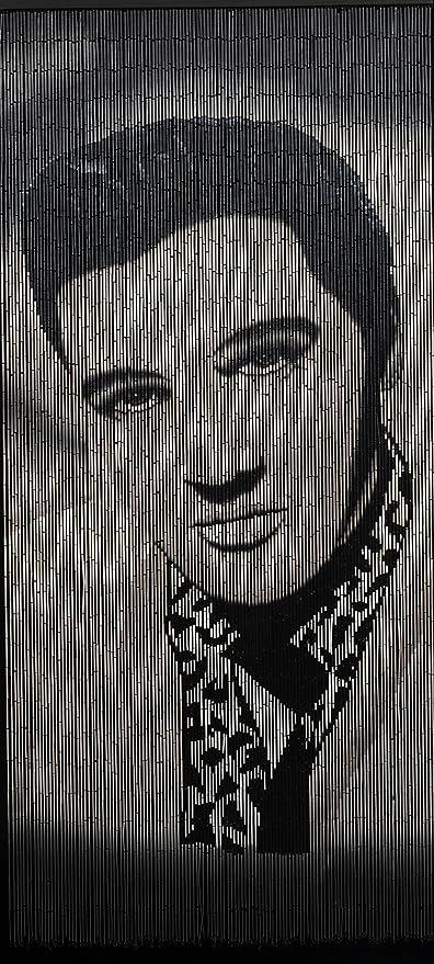 Bamboo Beaded Curtain Hand Painted-Elvis