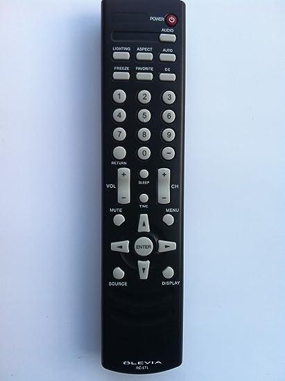 amazon com brand new original olevia rc ltl rcltl remote for 219h rh amazon com Older Olevia TV Manuals Olevia Televisions