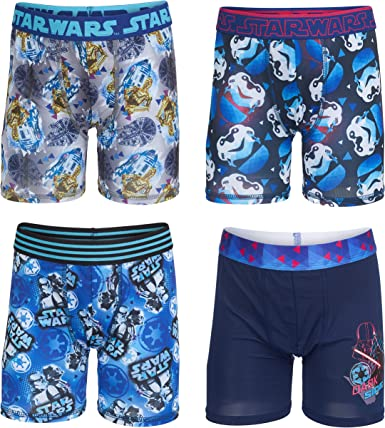 COMFORTABLE COOL Star Wars 2 pack Athletic Boxer Briefs-LIGHT