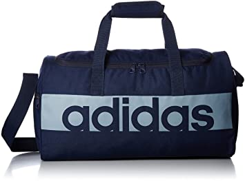 7475bbbc13 adidas Linear Performance Team S Bag, Collegiate Navy/Tactile Blue S17, 20 x