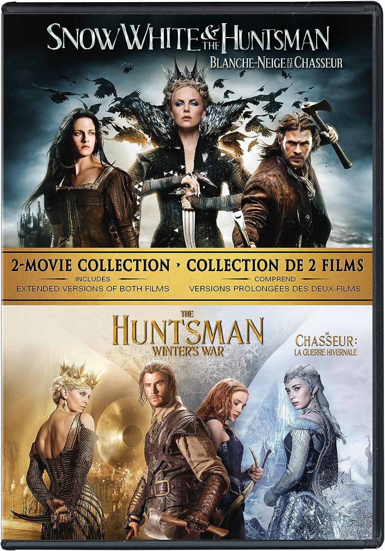Snow White & The Huntsman/ The Huntsman: Winter's War 2 - Movie Collection  Bilingual: Amazon.ca: Kristen Stewart, Charlize Theron, Chris Hemsworth,  Emily Blunt, Kristen Stewart;Charlize Theron;Chris Hemsworth;Emily Blunt:  DVD