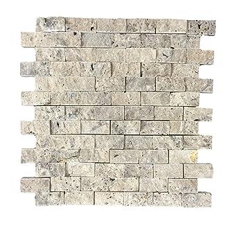 Schon Wandverkleidung Aus Naturstein | Wandstein Mosaik Für Wohnzimmer U2022  Schlafzimmer U2022 Flur | Mosaikfliese Als