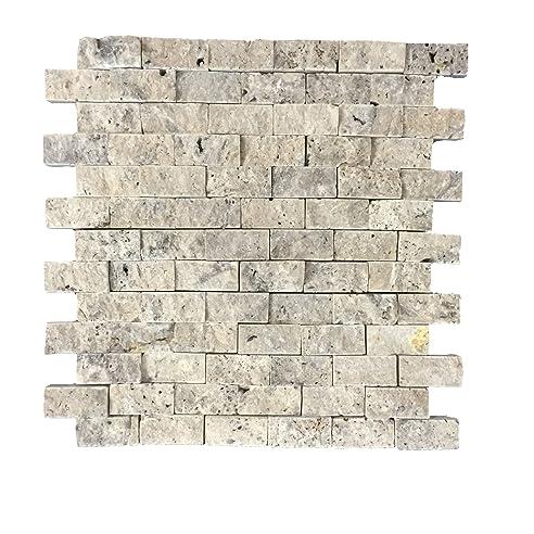 Wandverkleidung Aus Naturstein | Wandstein Mosaik Für Wohnzimmer U2022  Schlafzimmer U2022 Flur | Mosaikfliese Als