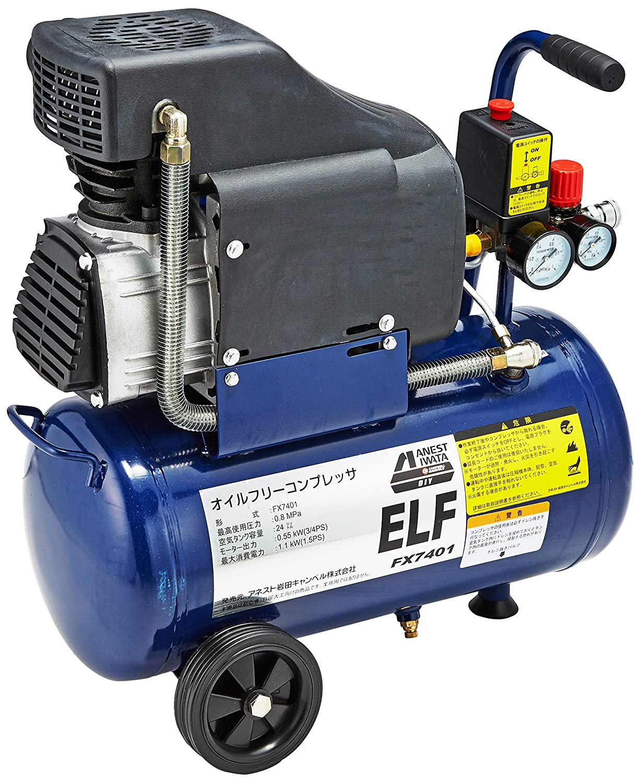 オイルフリーコンプレッサー エルフ FX7401