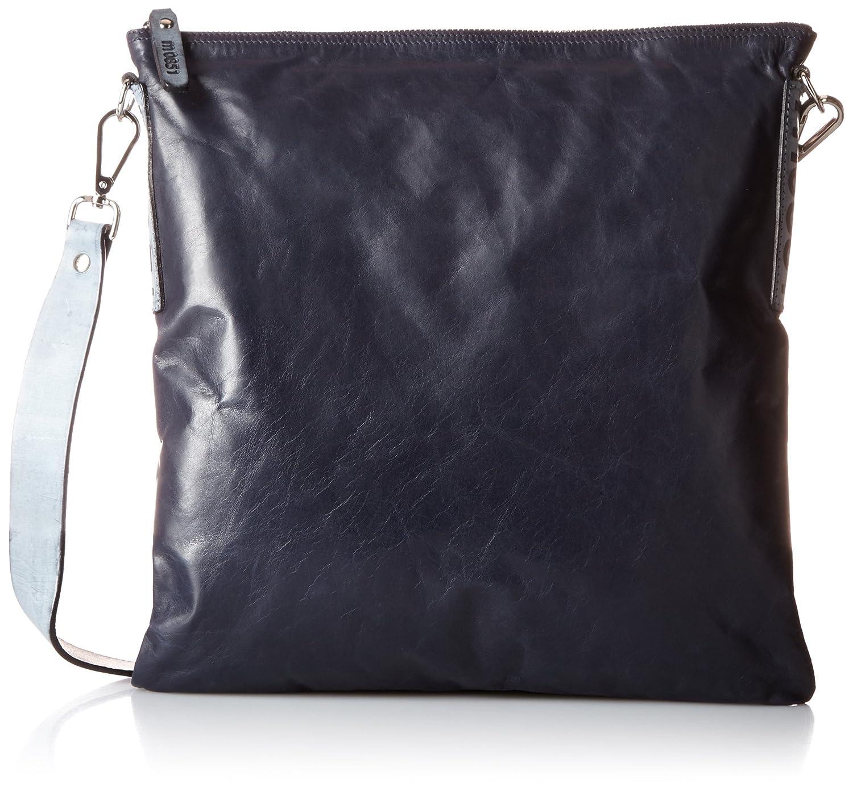 [エムゼロエイトファイブワン] デュアルポケットフラットバッグ Dual Pocket Flat Bag 756031 B01FH8OOJCInk