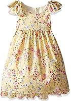 Laura Ashley London Little Girls' Bow Sleeve Party Dress