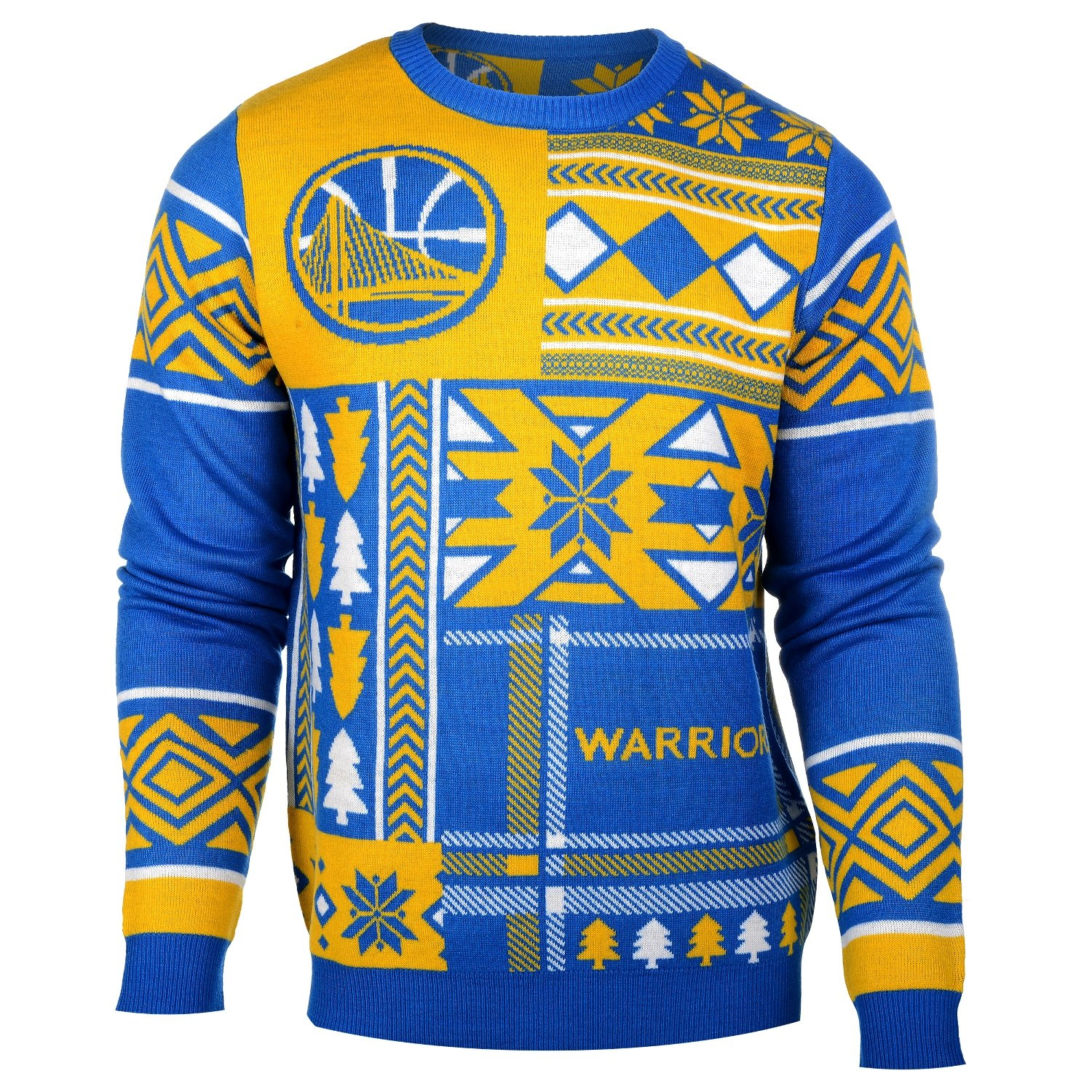 471bb56db Amazon.com   NBA Patches Ugly Sweater - Pick Team   Sports   Outdoors