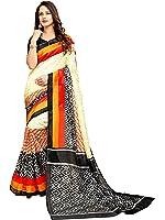 Glory Sarees Women's Cotton Silk Saree With Blouse Piece (Vnart30, Multicolor, Free Size)