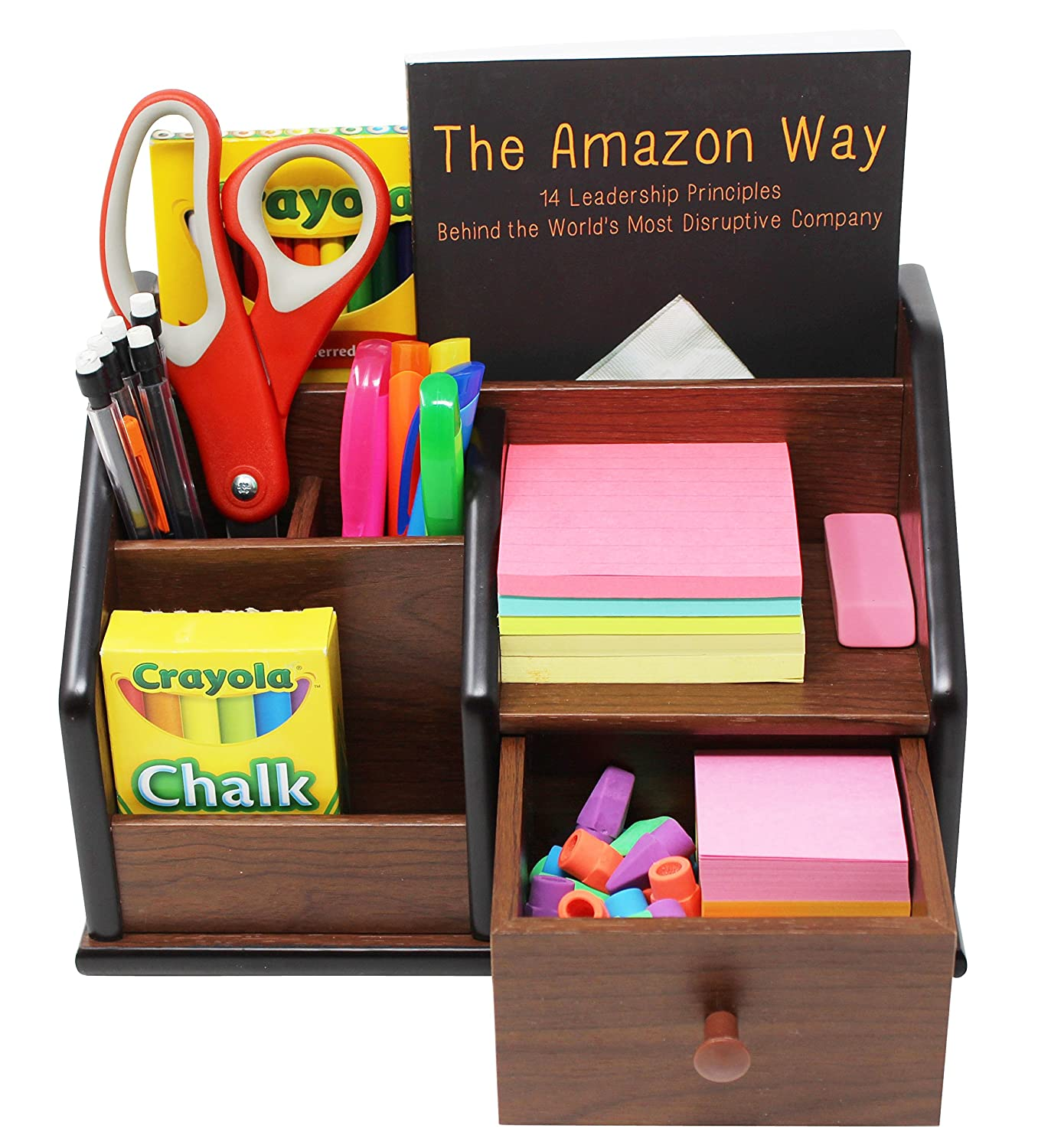 Office Organizer Multiple Supplies Accessories Image 3
