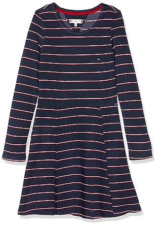 Tommy Hilfiger Essential Stripe Skater Dress Robe Bébé Fille