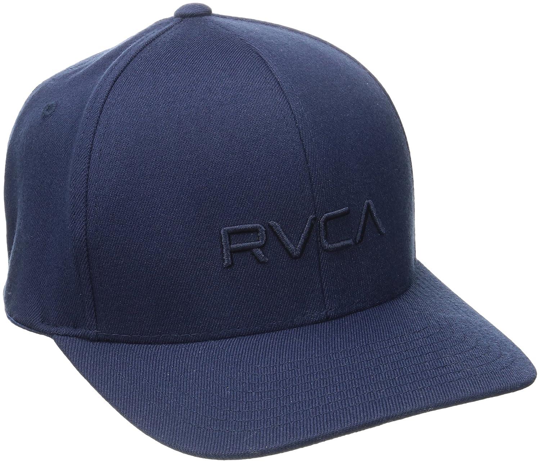 3985054f00b4c1 Amazon.com  RVCA Men s Flex Fit Hat  Clothing
