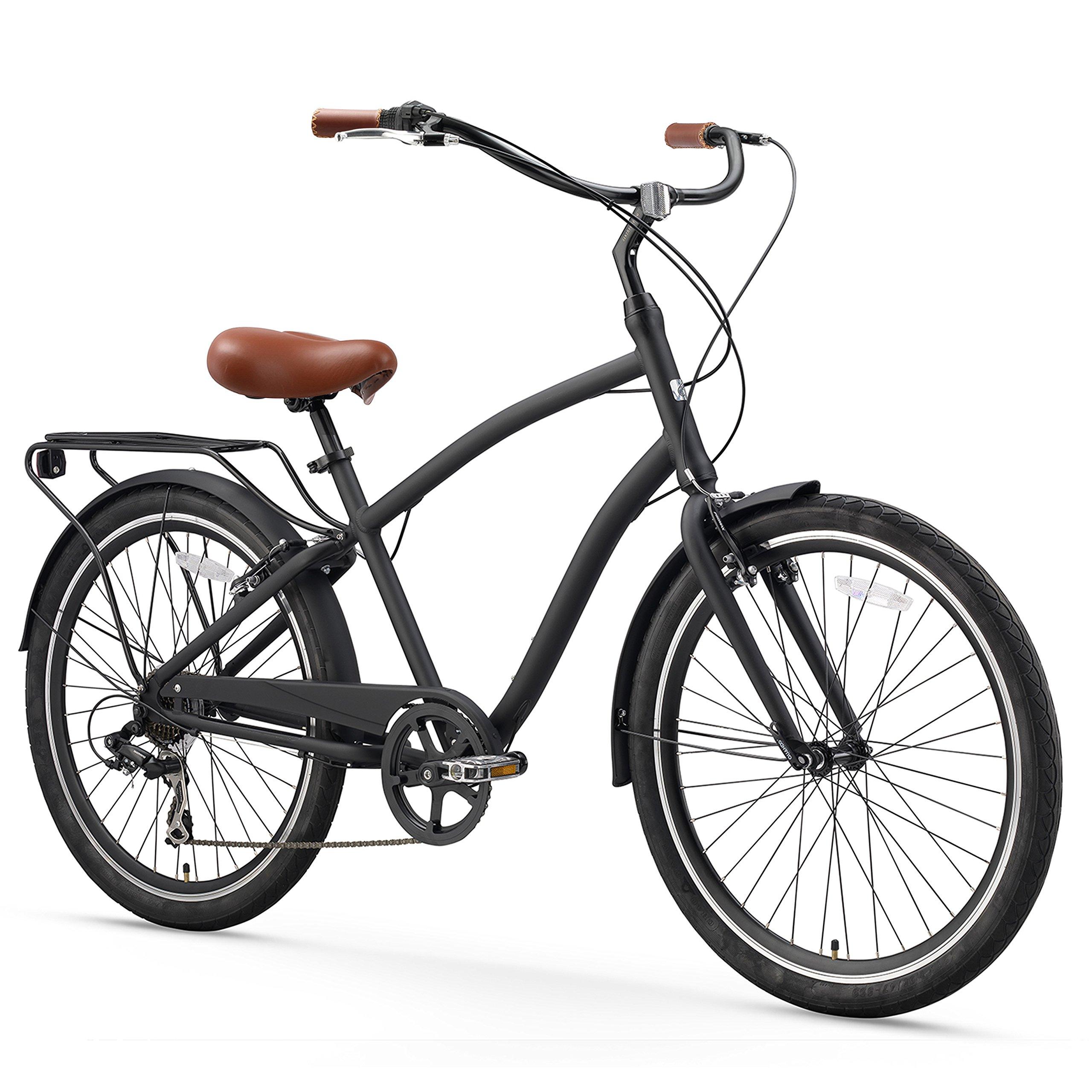 Sixthreezero Evryjourney Mens 26 Inch Hybrid Cruiser Bicycle, Matte Black Product