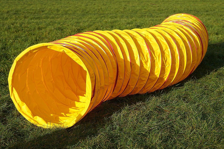 Agility Training Tunnel – 6 Metre Yellow – FCI Standard Wuzz Mann