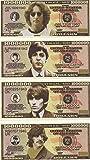 The Beatles $Million Dollar$ Novelty Bills Complete Set of 4