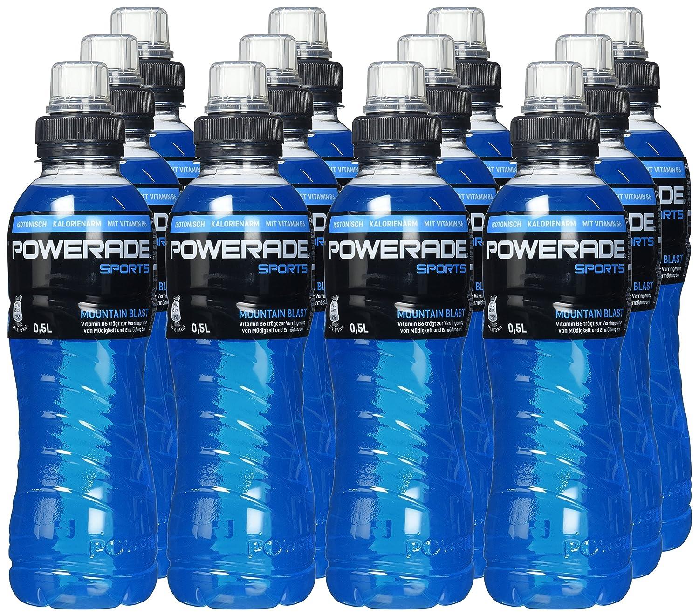 Powerade Sports Mountain Blast - Iso Drink mit Elektrolyten - als ...