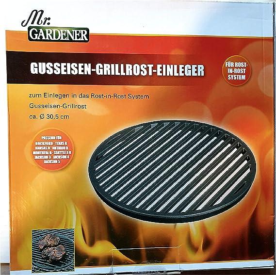 Gardener** aus Edelstahl für BBQ un... Grillrost 26,5 x 15,7 cm passend für  Mr