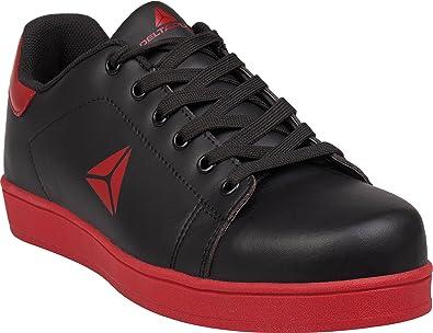 100bebe8502 Delta Plus Smash Black S1P 100% Metal Free Composite Toe Cap Safety ...