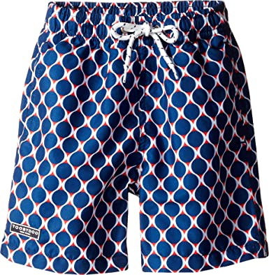 86f375475877 Amazon.com  Toobydoo Baby Boy s Navy and Red Swim Shorts  (Infant Toddler Little Kids Big Kids) Navy Red Swimsuit Bottoms  Clothing