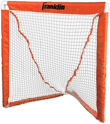 Franklin Sports Deluxe Youth Lacrosse Goal Orange