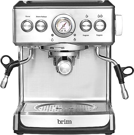 Amazon.com: Brim - Cafetera espresso de 19 bares para ...