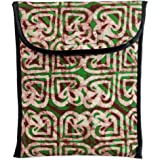 Novica Cotton iPad case, Flashes of Color