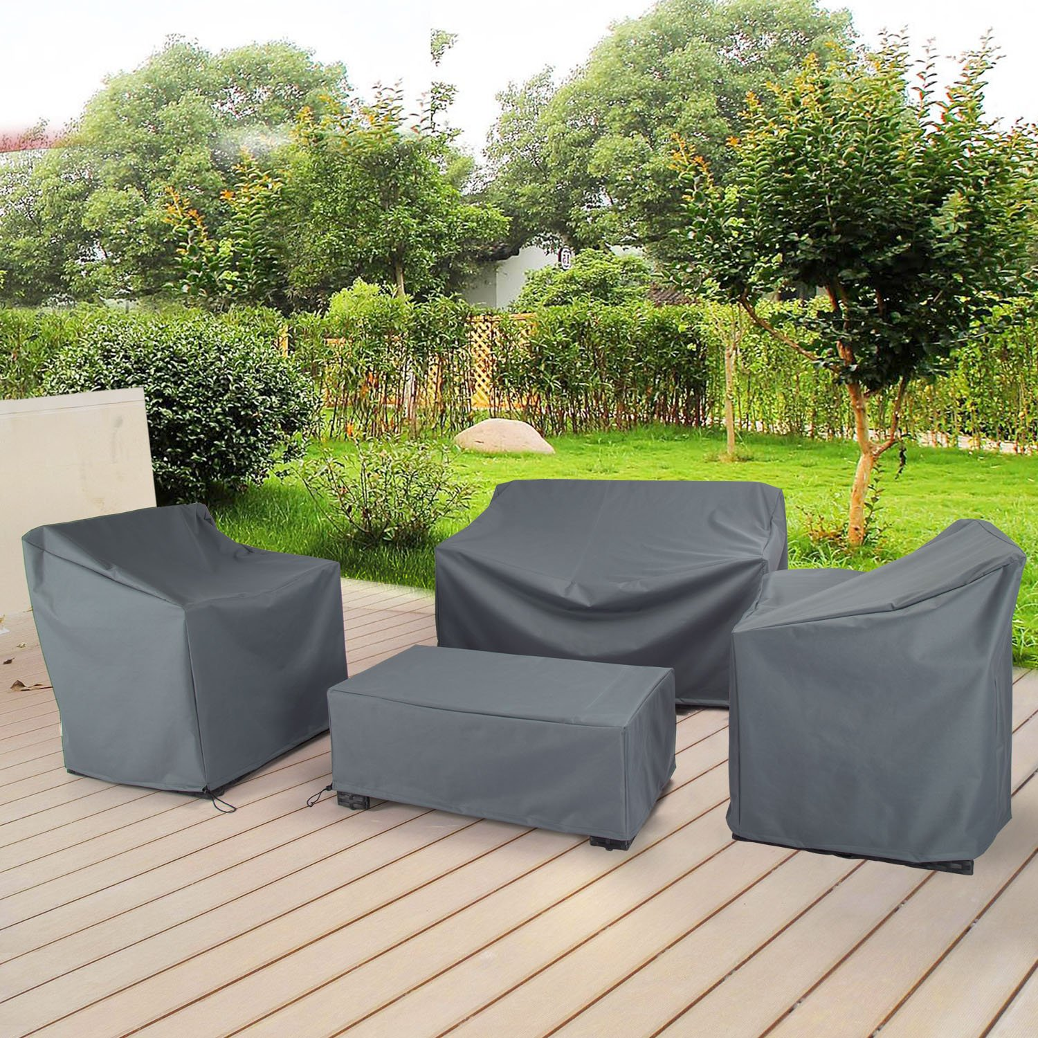 Patio Garden Furniture Cover Set