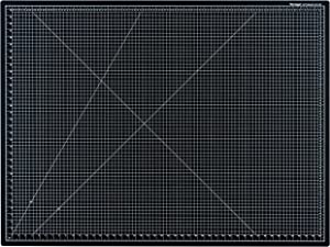 """Dahle Vantage 10674 Self-Healing Cutting Mat, 36""""x48"""", 1/2"""" Grid, 5 Layers for Max Healing, Perfect for Crafts & Sewing, Black"""