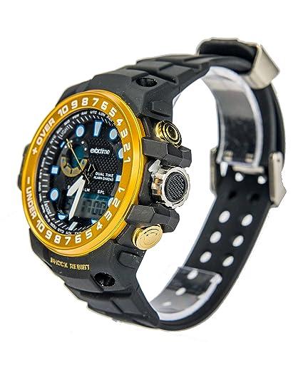 Reloj Exactime Militar Dorado