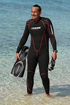 Amazon.com: Cressi Maya - Mens Wetsuit 2.5mm, in Premium ...