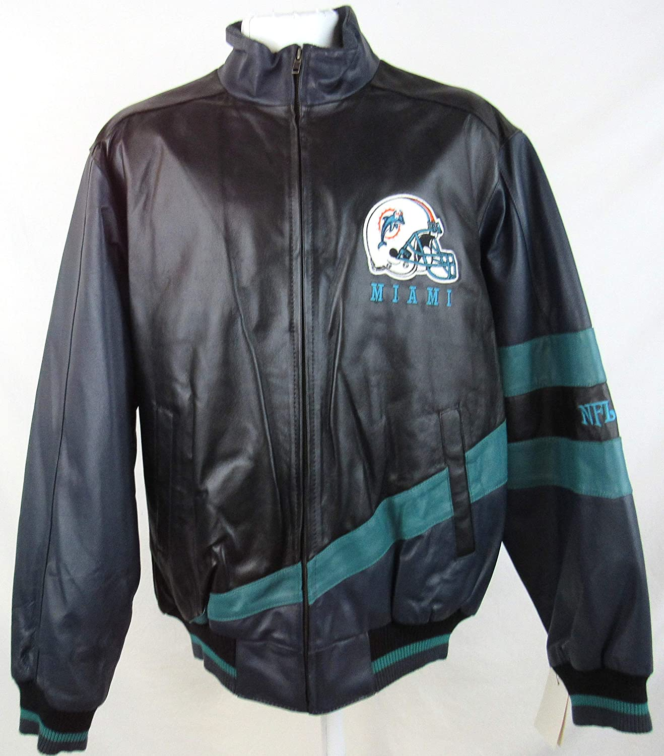 5d6cf3be Amazon.com : G-III Sports Mens Miami Dolphins Full Zip Embroidered ...