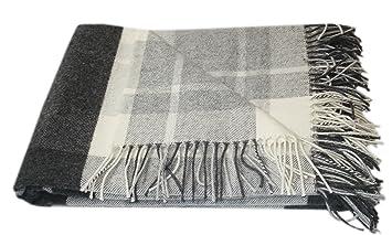 Cachemire Laine Mérinos Plaid Couverture, 100% Laine, 140 x 200 cm plaid  Blanket 54a089d260c