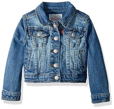 987a8cee3178 Amazon.com: Levi's Girls' Denim Trucker Jacket: Clothing