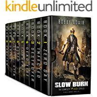 Slow Burn Box Set: The Complete First Saga in the Post-Apocalyptic Series