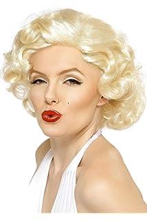 Smiffys Licenciado oficialmente Disfraz Bombshell de Marilyn Monroe, Rubia, Corta