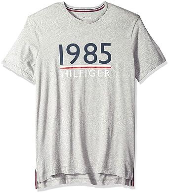 3793e36d Tommy Hilfiger Men's Modern Essentials Cotton Jersey Crew Neck T-Shirt,  Grey Heather S