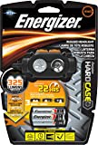 Energizer Hard Case Professional Rugged 3 LED Headlight, Batteries Included, Black/Gray