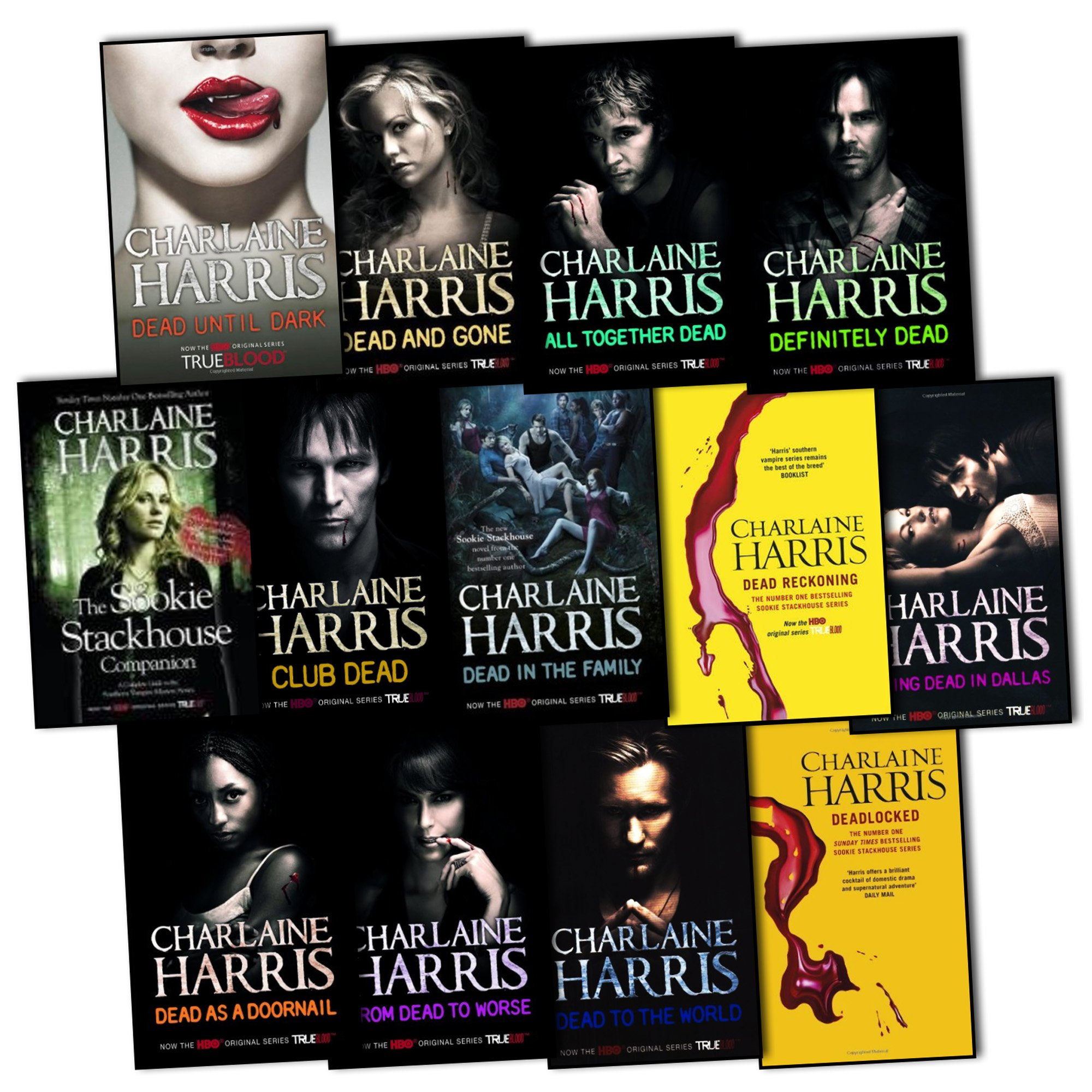 Charlaine Harris True Blood Sookie Stackhouse Vampire 13 Books Collection  Pack Set Rrp: £12424