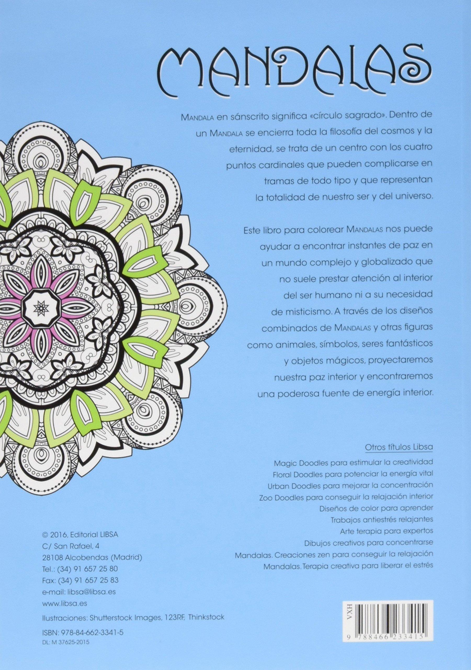 Mandalas Terapia Creativa para Liberar el Estrés: Amazon.es: Equipo ...