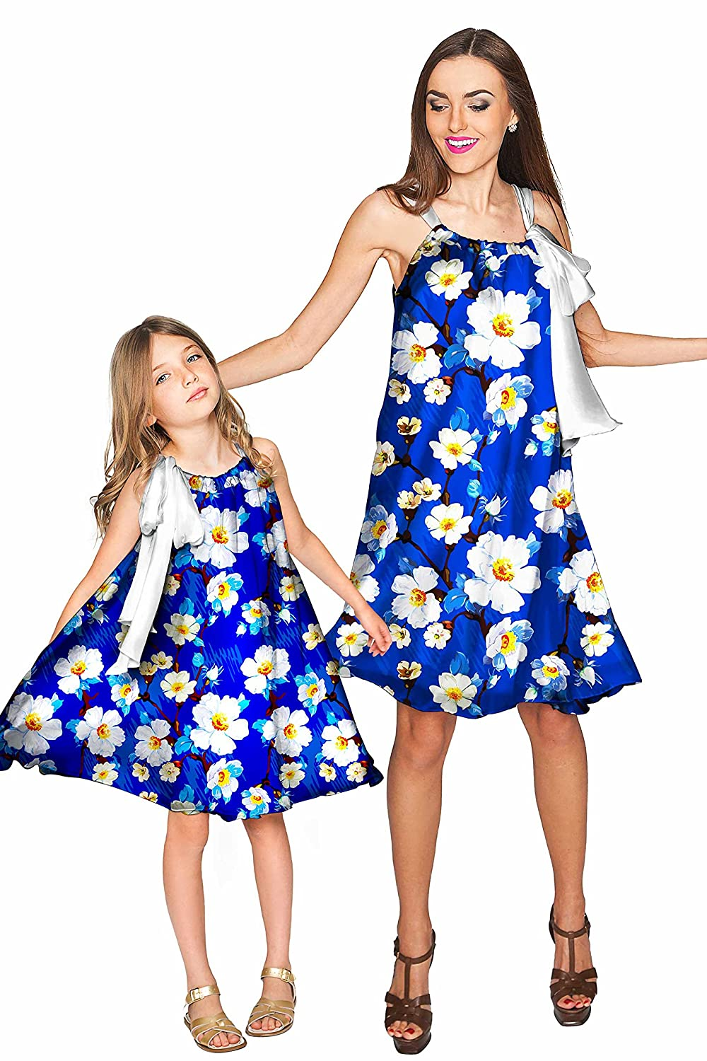 ad33d8c3be90f Amazon.com: PineappleClothing Mommy and Daughter Matching Dresses, Mom and  Me Family Clothes: Clothing
