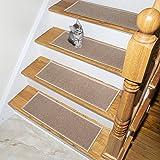 Ottomanson Escalier Skid-Resistant Rubber Backing