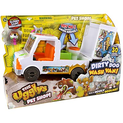 The Ugglys Pet Shop Dirty Dog Wash Van: Toys & Games