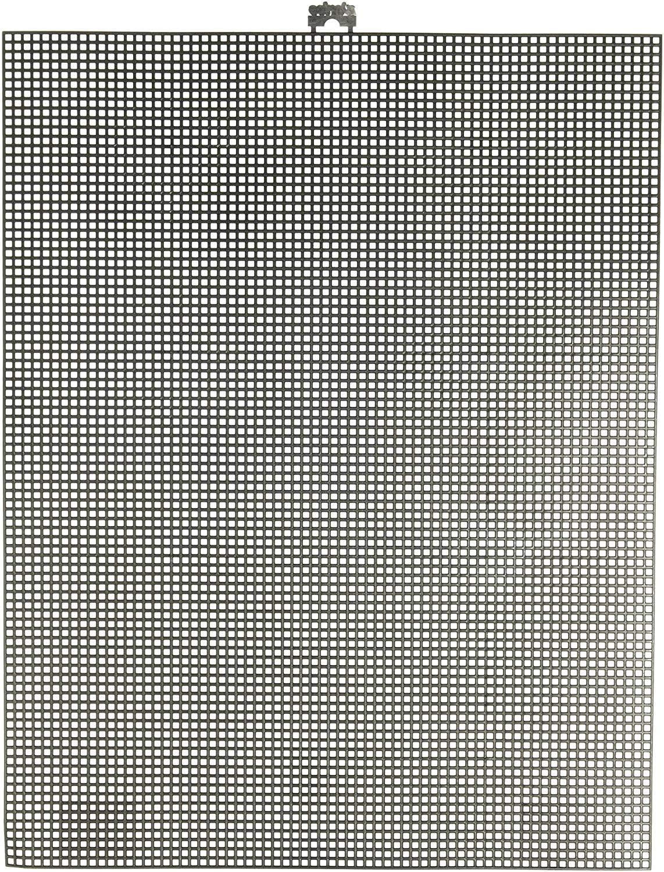 Darice Canvas, Lona de Plástico , Negro, 34.3 x 26.7 cm