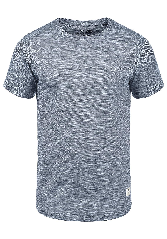!Solid Figos Herren T-Shirt Kurzarm Shirt Mit Rundhalsausschnitt Aus 100% Baumwolle